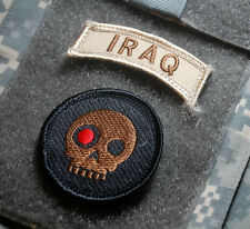 PRIVATE MILITARY CONTRACTORS PMC DIPLOMATIC SECURITY Terminator Skull + Iraq Tab