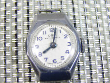 ANTIGUO ORIS SUIZO DE EPOCA AÑOS 50 ESPECIAL COLECCION FUNCIONA!!!!!LOTE WATCHES