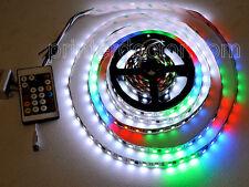 16ft Dream Color WS2811 RGB 100 pixel 300 LED strip light w controller 12v video
