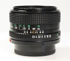 CANON FD 35mm 1:2.8 - 2.8/35 für A-1,AE-1,F1 mit. 1 Jahr Gewährleistung