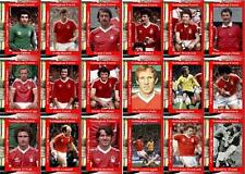 Nottingham Forest 1979 Football League Cup final winners trading cards