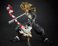 2016 Play Arts Kai Kingdom Hearts 2 Halloween Town Sora Action Figure(no box)