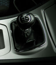 Real Black Leather Shift Gear Gaiter fit Ford S-MAX 2006 -