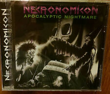 Necronomicon-Apocalyptic Nightmare CD  to become the countries cult Thrash Metal