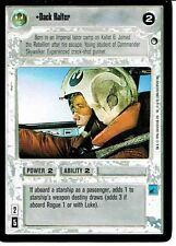 Star Wars CCG Hoth Borde Negro Luz Lateral Raro Dack Ralter