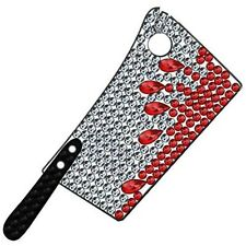 Diamante Bloody Cleaver Brooch Halloween Horror Jewelry Kreepsville 666