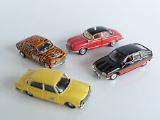 ATLAS NOREV LOT DE 4 VOITURES SIMCA 1300 / 204 / GS / PANHARD DYNA Z12 1/87 EME