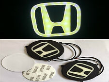 Car Flexible Rubber LED HONDA Logo DRL White COB Fog Lamp Light :-  2 Pcs Set