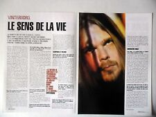 COUPURE DE PRESSE-CLIPPING :  VINTERSORG [2pages] 2002 Interview,Visions From...