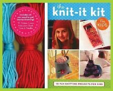 The Knit-It Kit for Kids: 10 Fun Beginning Knitting Projects (Get Crafty)