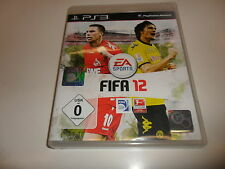 PlayStation 3 PS 3  FIFA 12