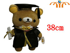 PELUCHE RILAKKUMA 38 CM LAUREA ORSO TEDDY BEAR TED PLUSH DOLL LAUREATO ANIME #1