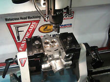 KX250F Head repair service + Kibblewhite stainless valves & spring kit