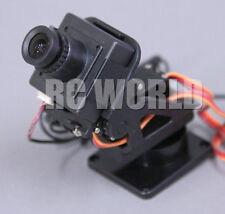 DRONE UAV Color CAMERA  FPV  PAN/TILT System For HEAD TRACKING  CMOS 752 X 582