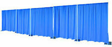 50ft Wide by 8ft Tall Pipe and Drape (Premier Drape)