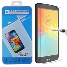 Premium Tempered Glass Screen Protector 9H Protection for LG L Bello D331 D335