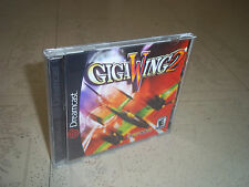 GIGAWING 2.SEGA DREAMCAST NTSC.REPLACEMENT CASE+INLAYS ONLY.NO GAME
