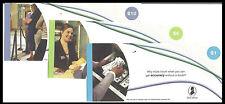 Test note - TDLR-491 to 496 Six note Thomas De La Rue set $1 to $100, UNC