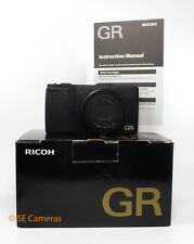 RICOH GR COMPACT 16MP APS-C DIGITAL CAMERA MINT CONDITION BOXED