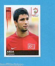 PANINI-EURO 2008-Figurina n.137- ARDA TURAN - TURCHIA -NEW BLACK