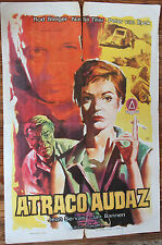 Used - Cartel de Cine  ATRACO AUDAZ  Vintage Movie Film Poster - Usado