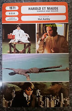 US Romantic Dark Comedy Harold and Maude Ruth Gordon French Film Trade Card