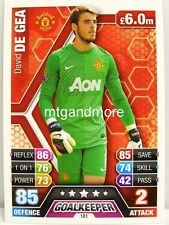Match Attax 2013/14 Premier League - #181 David De Gea - Manchester United