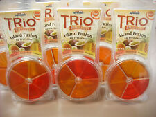 6 PK AUTO EXPRESSIONS TRIO BLENDABLES, ISLAND FUSION AIR FRESHENER