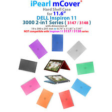 """NEW iPearl mCover® Hard Case for 11.6"""" Dell Inspiron 11 3147 3148 2-in-1 laptop"""