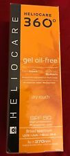 HELIOCARE 360 GEL OIL-FREE SPF50 Sunscreen 50ml Dry Touch High Protection