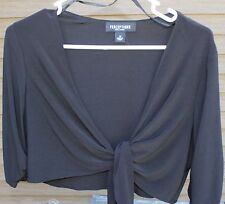 Woman's Black Shirt by Perceptions New York; Size:  14