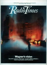 RADIO TIMES 16 OCT 1982 . WAGNER COVER . TENKO . IAN HOLM