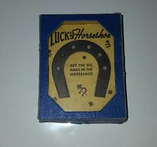 1940 Lucky Horseshoe  Handheld Puzzle Game A C Gilbert