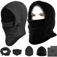 6 IN 1 Thermal Fleece Snood Hood Balaclava Neck Warmer Winter Hat Scarf Mask New