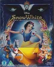 Disney Snow White Zavvi UK Steelbook Blu-ray Region B & C SEALED Shipped in Box