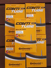 Continental Race 28 Road Bike Tubes 700C 19/25mm 42mm Valve 5 Pack *New*
