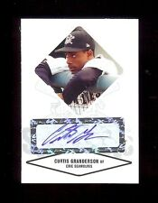 CURTIS GRANDERSON Certified Baseball Rookie Card AUTOGRAPH RC xx/825