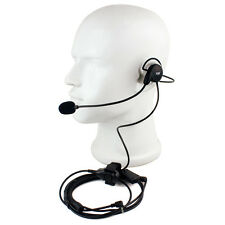 New Finger PTT Earpiece Mic Headset for Motorola Radios Walkie Talkie T6200