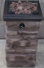 Small Decorative Propane Fire Pit / Heater Outdoor