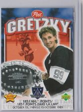 1999 POST CEREAL WAYNE GRETZKY CARD -- NEVER OPENED!