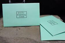 ✯ Silver Jewelry Necklace Ring Cleaner Polishing Cloth Bullion Anti-Tarnish 12pk