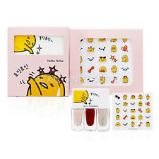[HOLIKA HOLIKA] Gudetama Lazy & Joy Party Up Nail Kits 4gX3 Stiker 1pc / Shining