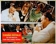 CASINO ROYALE 1967 Orson Welles Peter Sellers JAMES BOND LOBBY CARD #8