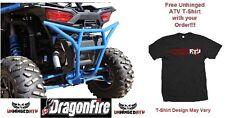 BLUE!! RacePace Rear Smash Bumper for RZR XP 1000 & Free Unhinged ATV T-Shirt
