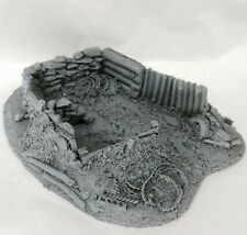 Javis Battle Zone Resin Trench Type 4. War Gaming. 1/72,1/76 20mm Scale. BZT4