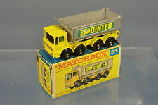 MATCHBOX LESNEY MODEL NO 51c AEC MAMMOTH MAJOR 8 WHEEL TIPPER  N
