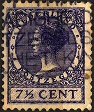 OLANDA - 1926-1928 - Effigie della Regina Guglielmina