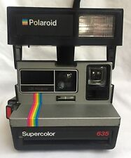 Polaroid Supercolor 635 Vintage Rainbow Instant Film Camera Impossible PX680