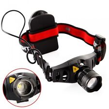 1200Lm Cree Q5 LED Zoomable Zoom Headlamp Light Lamp Outdoor Hiking Torch 18650