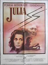 Affiche JULIA Fred Zinnemann JANE FONDA Vanessa Redgrave 60x80cm 1977